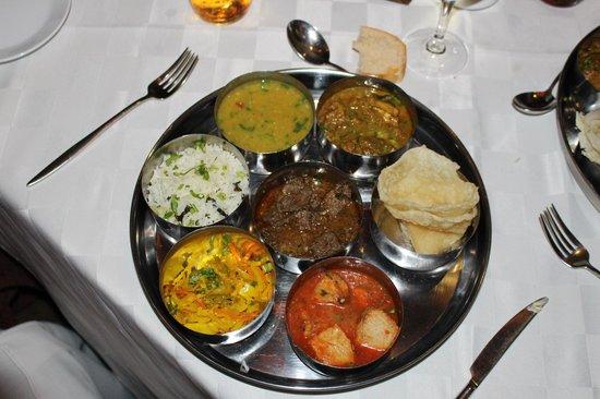 Heritage Awali Golf & Spa Resort : repas mauricien