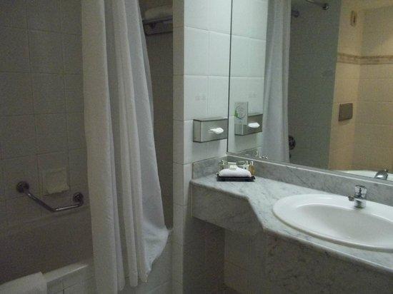 Millennium Hotel Paris Charles de Gaulle: 水も出ない風呂