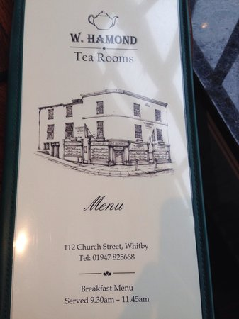 W Hamond Tea Rooms and Cafe: The Hamond Tea Room