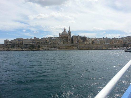 Paradise Bay Resort Hotel: Valetta by ferry
