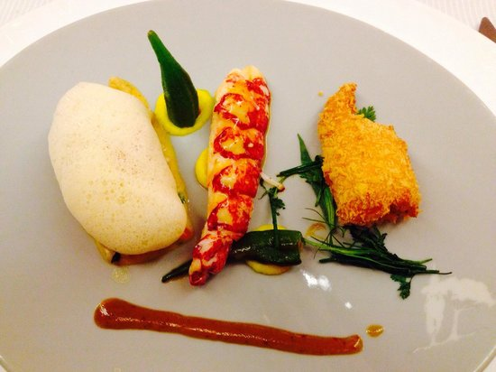 Carre des Feuillants : The lobster trio