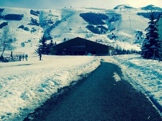 Les Deux Alpes : Remontée du diable