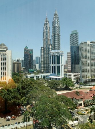 Renaissance Kuala Lumpur Hotel: view from room 1214