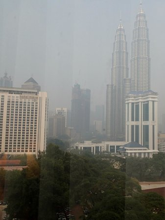 Renaissance Kuala Lumpur Hotel: view from room 12 14
