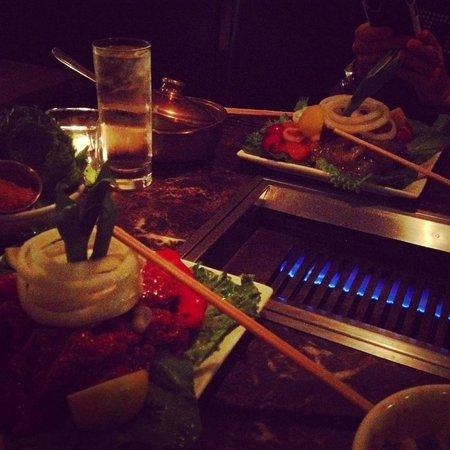 The Korean BBQ at Bann
