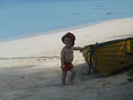 Biyadhoo Island Resort : Piccoli turisti