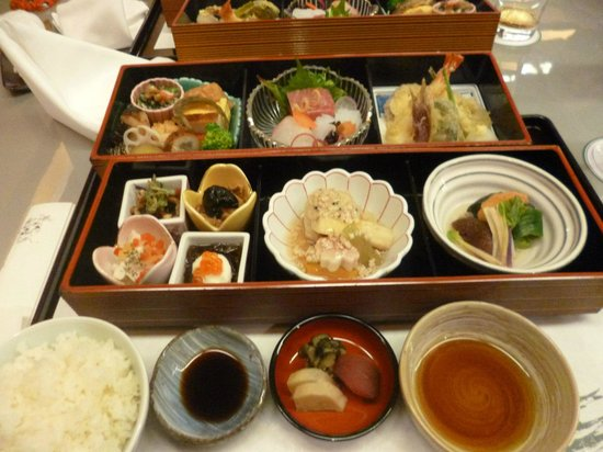 Hotel Springs Makuhari: Food from their Chinese restaraunt