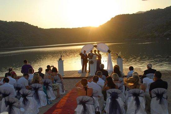 Plage d'Oludeniz (Lagon bleu) : ceremony2