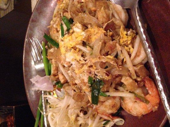 Thai on 4: One of the best phad Thai eaten in Bangkok..