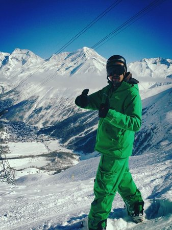 Optimum Snowsports : Wes ready for action!