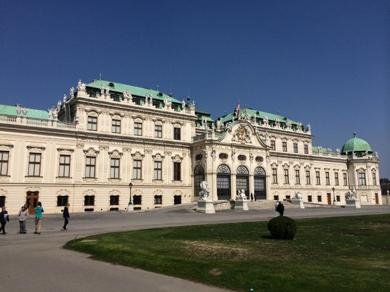 Belvedere Palace Museum: External view