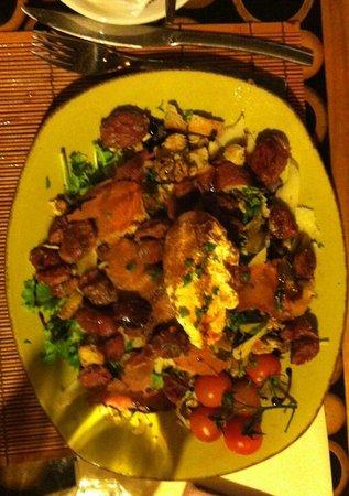 La Cabane : salade gesier