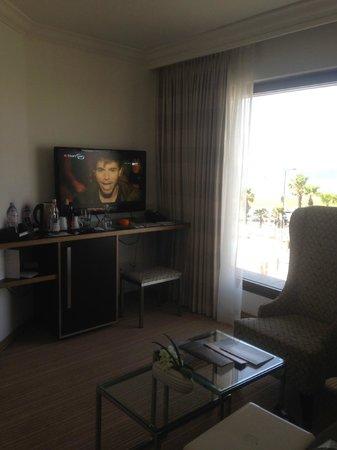 InterContinental David Tel Aviv: Corner suite - saloon room