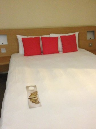 Novotel Cardiff Centre: Double Bed