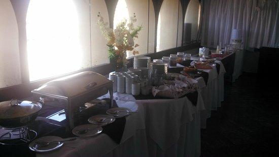 Hotel Maine: Café da manhã no último andar