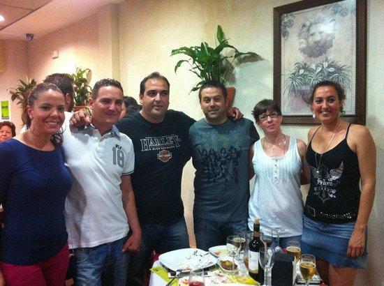 Peter´s House Abrasador Restaurant : Nuestros clientes y amigos