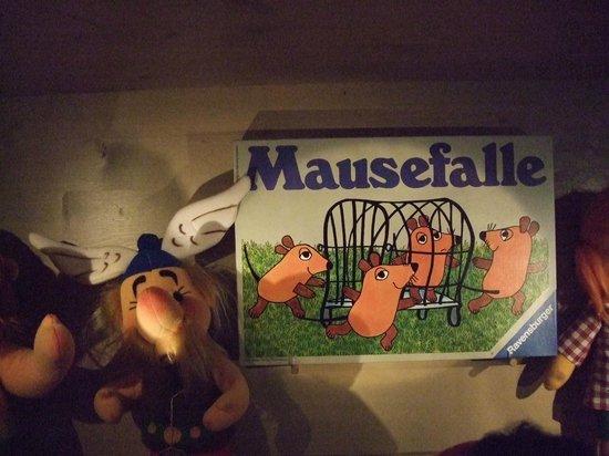 Nürnberger Spielzeugmuseum: このネズミが清武選手ににているとか、、、