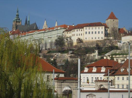 Hotel Trinidad Prague Castle: View from window