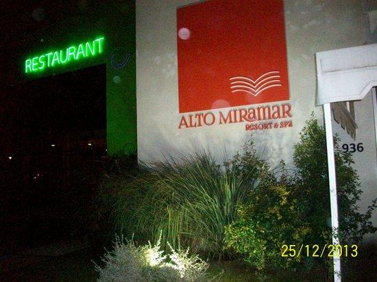 Alto Miramar Resort & Spa: Noche buena