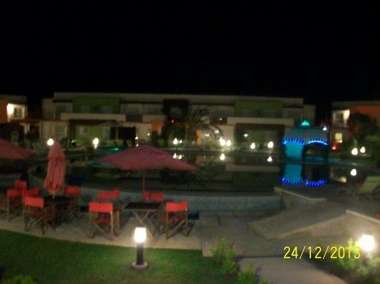 Alto Miramar Resort & Spa: La pile en noche buena