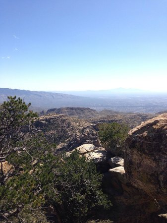 Mt. Lemmon Scenic Byway: What a view :-)