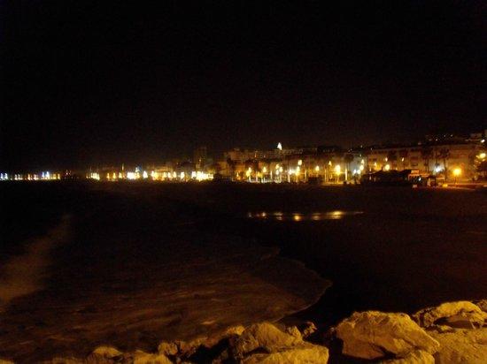 La Carihuela in de avond!