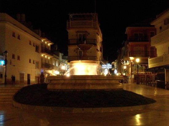 La Carihuela: Fontijn bij La Cariguela