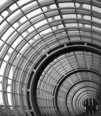 San Diego Marriott Marquis & Marina: Ceiling at convention center
