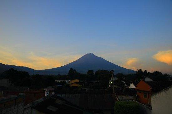 Pension Tashiro: 屋上からの眺め