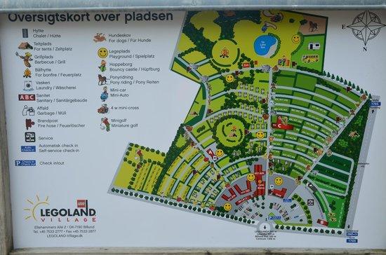 LEGOLAND Holiday Village: План расположения