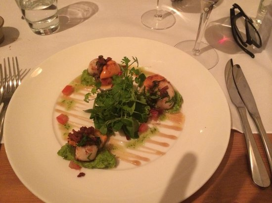 The Fig Tree: Scallops