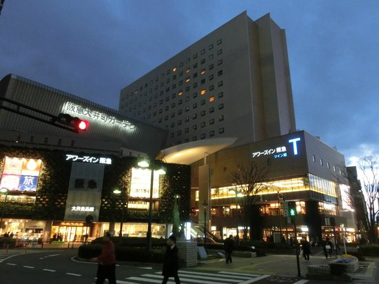 Ours Inn Hankyu: 外観