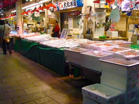 Omicho Market: 近江町市場