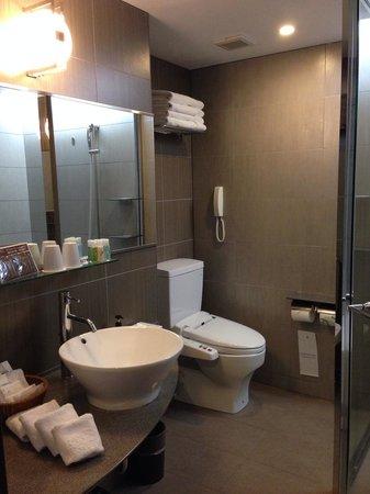Citadines Central Shinjuku Tokyo: Bathroom