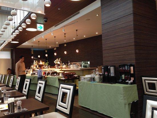 Citadines Central Shinjuku Tokyo: Restaurant for breakfast
