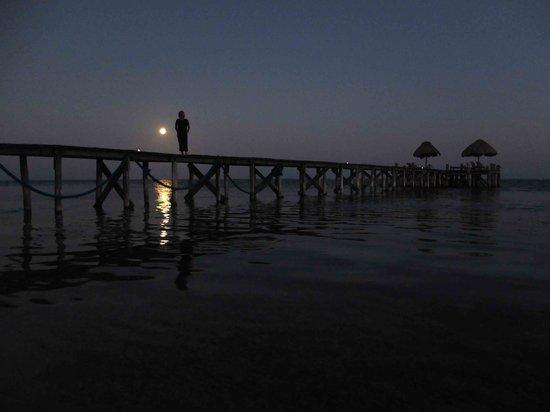 Playa Sonrisa : The full moon