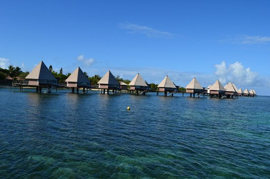 L'Escapade Island Resort : 水上コテージ