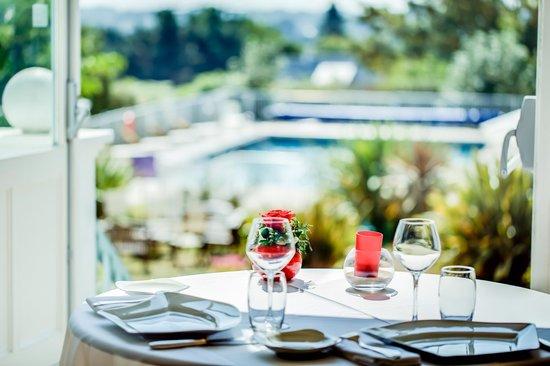 Hotel Tumulus : Restaurant vue panoramique