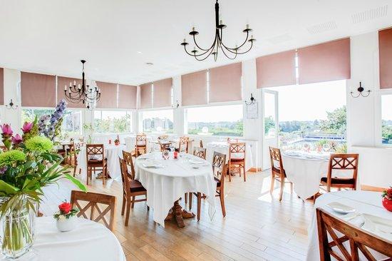 Hotel Tumulus : Salle de restaurant gastronomique