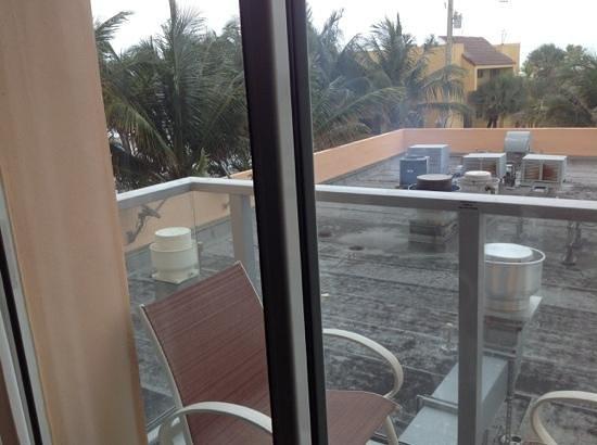 Hollywood Beach Marriott: rm 312 view