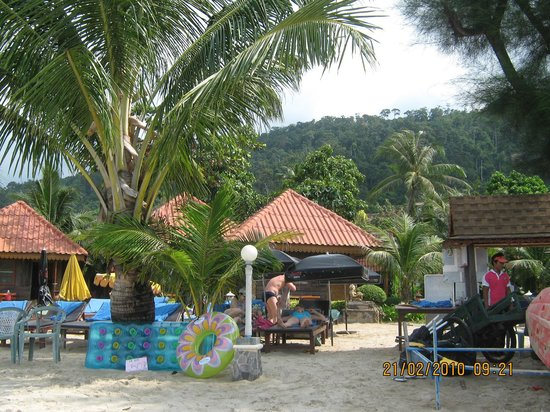 Koh Chang Resort & Spa: Пляж отеля