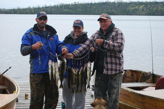 Errington's Wilderness Island Resort: great fishing