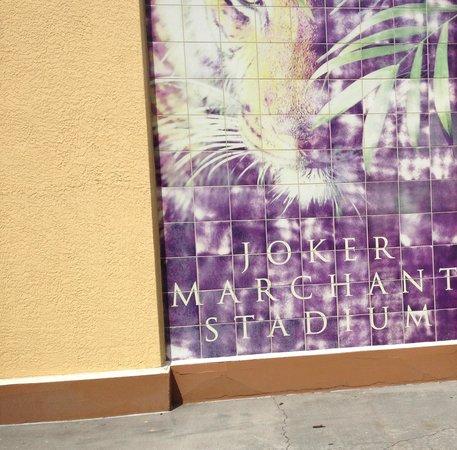 Joker Marchant Stadium: One of the entryways