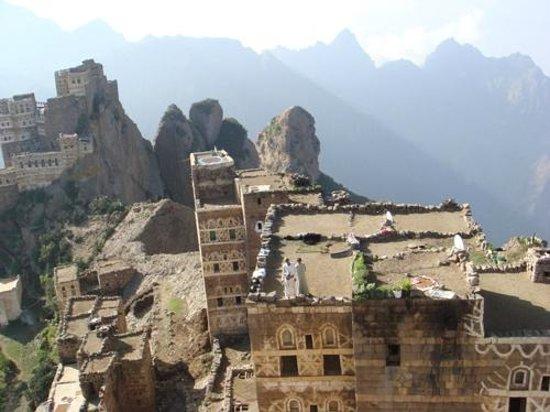 Yémen : Mount Shoqrof in Haraz