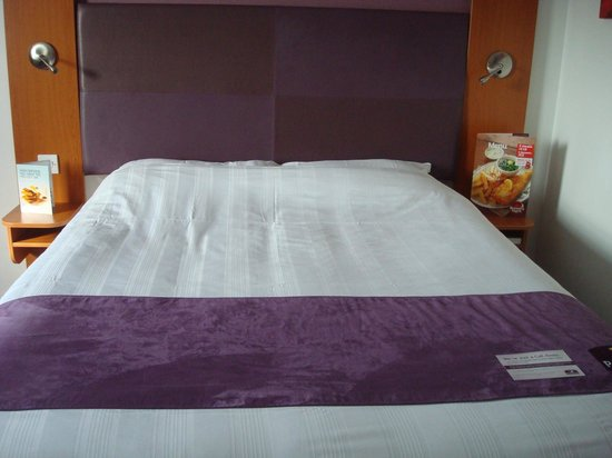 Premier Inn Kings Lynn : Bed