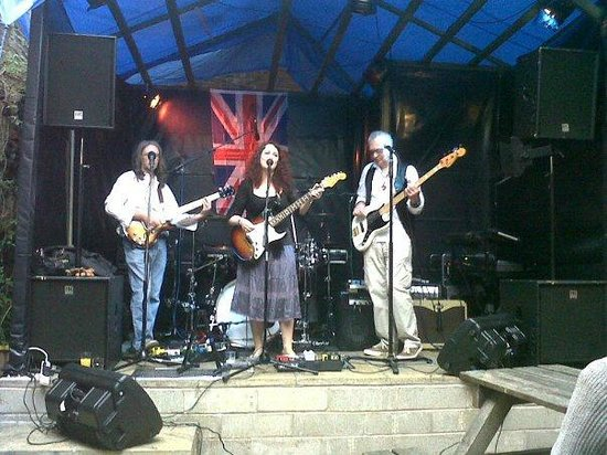 New Barrack Tavern music festival in the beer garden!
