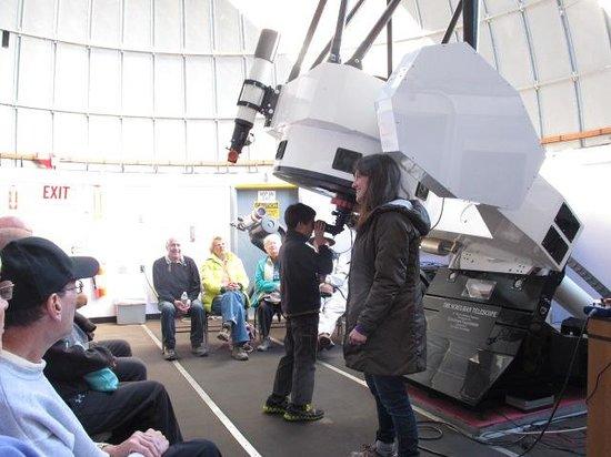 Mt. Lemmon SkyCenter Observatory: Using the telescope atop Mt Lemmon