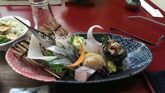 Jukeiso: Sashimi at Dinner