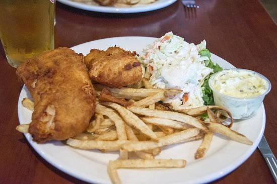 The Olde Heritage Tavern: Fish & chips