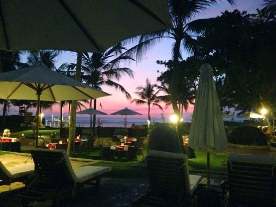 The Royal Beach Seminyak Bali - MGallery Collection: time to leave the pool & find dinner